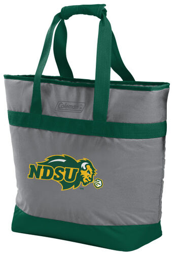 Rawlings North Dakota State Bison 30 Can Tote Cooler In Team Colors With Team Logo On Front SKU #07883158111