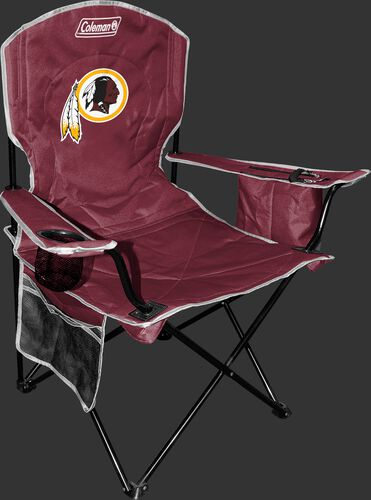 Front of Rawlings Burgundy NFL Washington Redskins Cooler Chair With Team Logo SKU #02771087112
