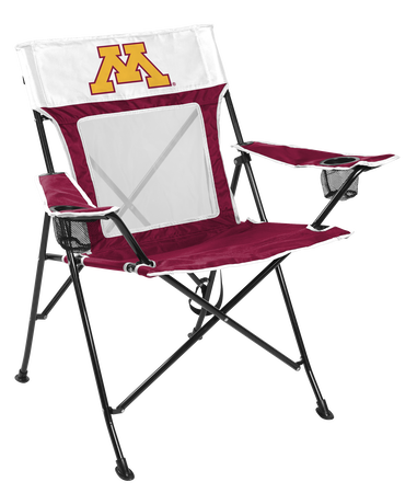 NCAA Minnesota Golden Gophers Game Changer chair with the team logo