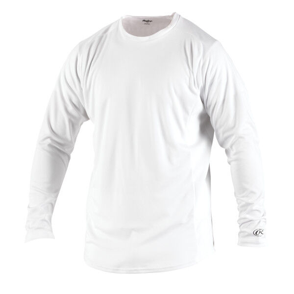 Adult Long Sleeve Shirt White