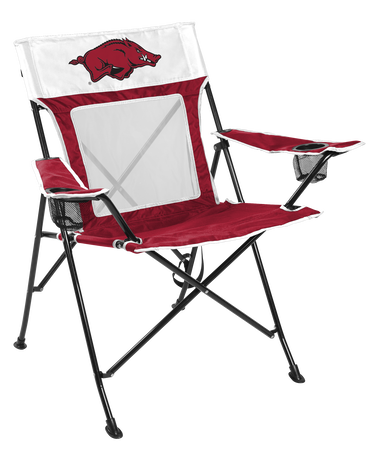 NCAA Arkansas Razorbacks Game Changer chair with the team logo