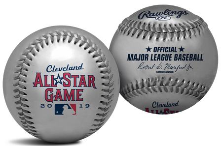 MLB 2019 Replica Silver All-Star Baseball