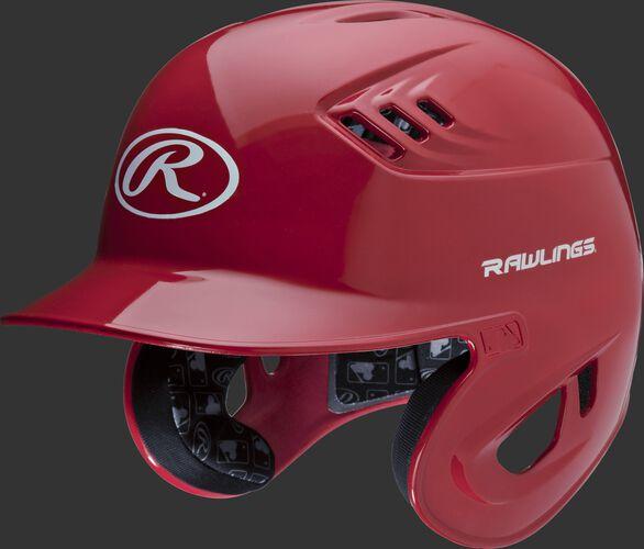 Coolflo High School/College Batting Helmet Scarlet