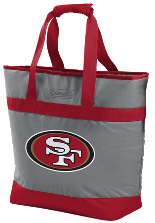 NFL San Francisco 49ers 30 Can Tote Cooler