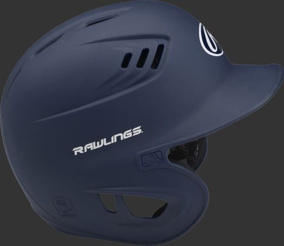 Coolflo High School/College Matte Batting Helmet Navy