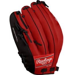 Mike Trout Scarlet Custom Glove