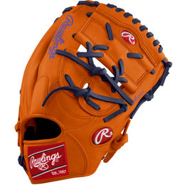 Orange/Purple Custom Glove