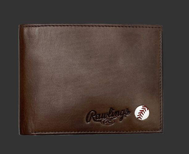 Play Ball Bi-Fold Wallet Brown
