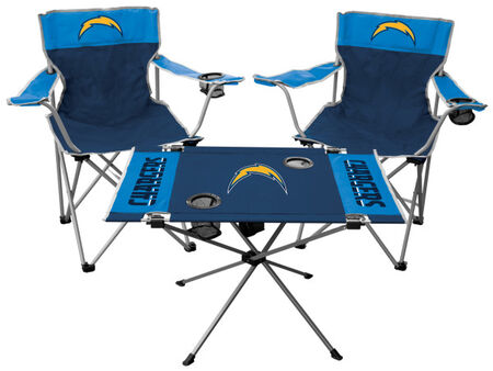 NFL Los Angeles Chargers 3-Piece Tailgate Kit