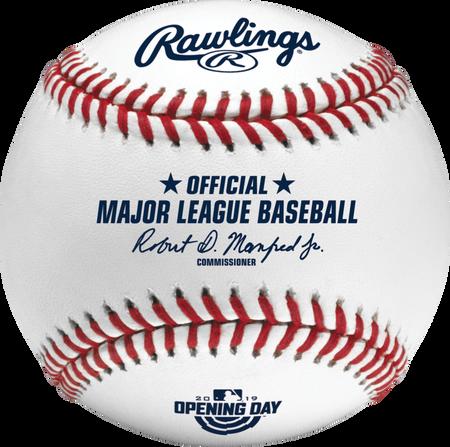 MLB 2019 Opening Day Baseballs
