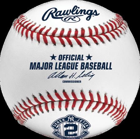 MLB 2014 Derek Jeter Retirement Baseballs