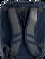 Back of a navy Rawlings Franchise backpack with gray shoulder straps - SKU: FRANBP-N image number null