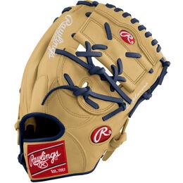 Blue/Gold Custom Glove