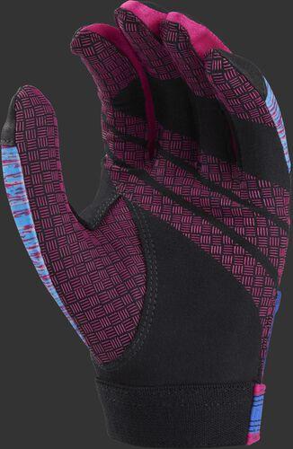 Black/pink palm of a FPEBG Eclipse batting glove