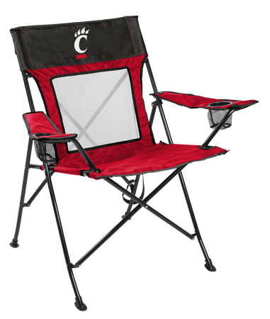 NCAA Cincinnati Bearcats Game Changer chair with the team logo