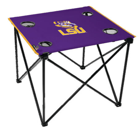 NCAA LSU Tigers Deluxe Tailgate Table