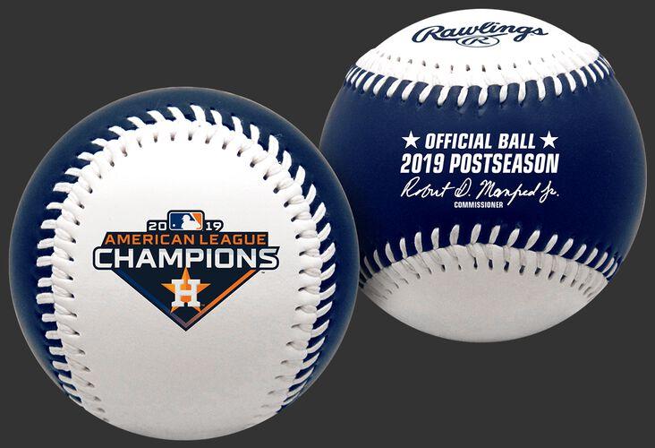 2019 Houston Astros American League Champions Replica Baseball