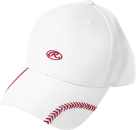 Women's Change Up White Baseball Stitch Hat