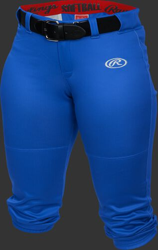 Front of Rawlings Royal Girls' Low-Rise Softball Pant - SKU #YLNCHG