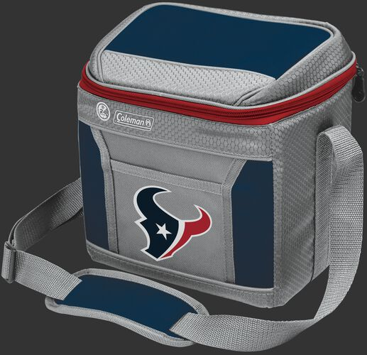 Rawlings Houston Texans 9 Can Cooler In Team Colors With Team Logo On Front SKU #03281093111