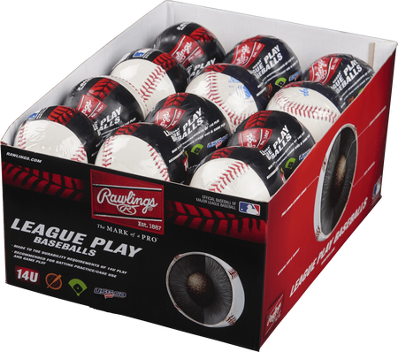 24 Pack USSSA 14U League Play Baseballs