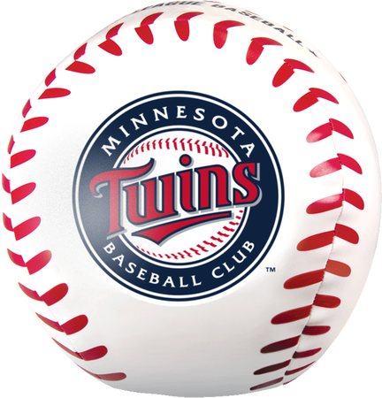 MLB Minnesota Twins Big Boy 8 in Softee Baseball