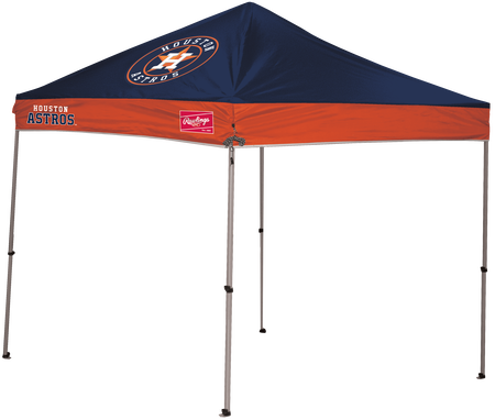 MLB Houston Astros 9x9 canopy shelter with large team printed logos and team name on the side