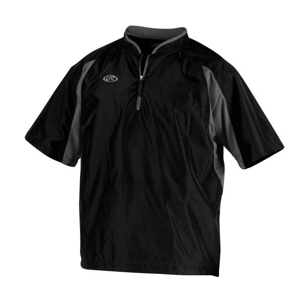 Adult Short Sleeve Jacket Black