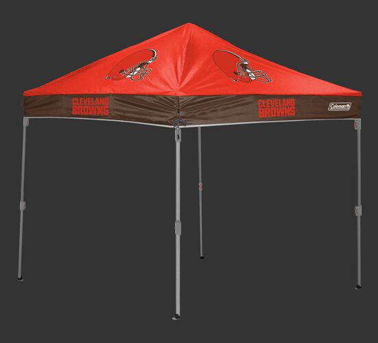Rawlings Orange and Brown NFL Cleveland Browns 10x10 Canopy Shelter With Team Logo and Name SKU #03221064111