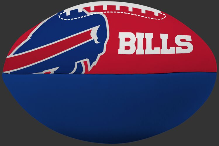 NFL Buffalo Bills Big Boy softee football in team colors with team logos and team name SKU #03211061111