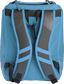 Back of a Columbia blue Rawlings Franchise backpack with gray shoulder straps - SKU: FRANBP-CB image number null