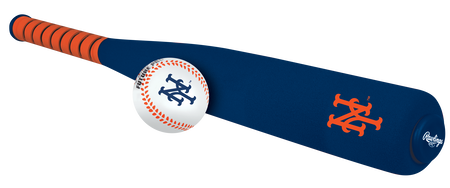 MLB New York Mets Foam Bat and Ball Set