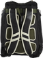 Back of a camo Rawlings Legion backpack with black shoulder straps - SKU: LEGION-CAMO image number null