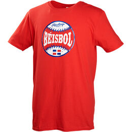 Adult Rawlings Béisbol Short Sleeve Shirt