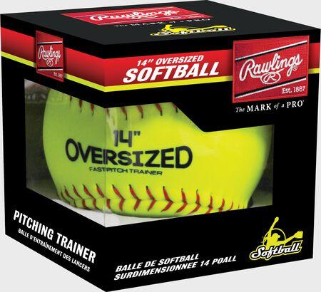 "Oversized 14"" Pitcher's Training Softball"