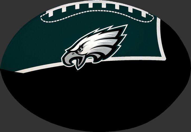 Midnight Green and Black NFL Philadelphia Eagles Football With Team Logo SKU #07831080114