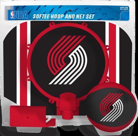 NBA Portland Trail Blazers Softee Hoop Set