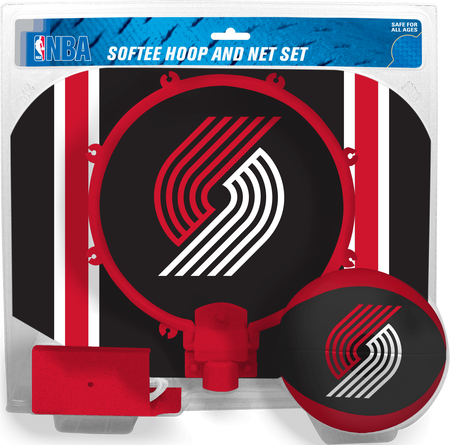NBA Portland Trail Blazers Softee Hoop Set