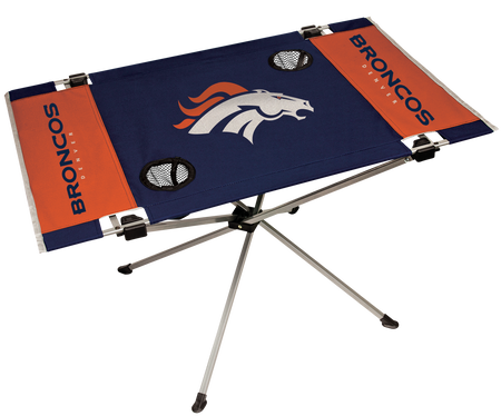 NFL Denver Broncos Endzone Table