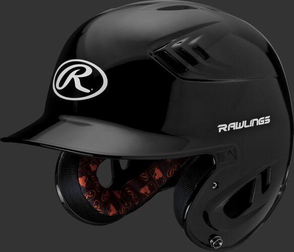 Velo Junior Batting Helmet Black