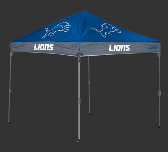 Rawlings Blue and Grey NFL Detroit Lions 10x10 Canopy Shelter With Team Logo and Name SKU #03221067113