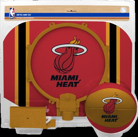 NBA Miami Heat Softee Hoop Set