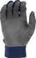 Grey palm of a grey/navy 5150GBGY youth 5150 bating glove image number null