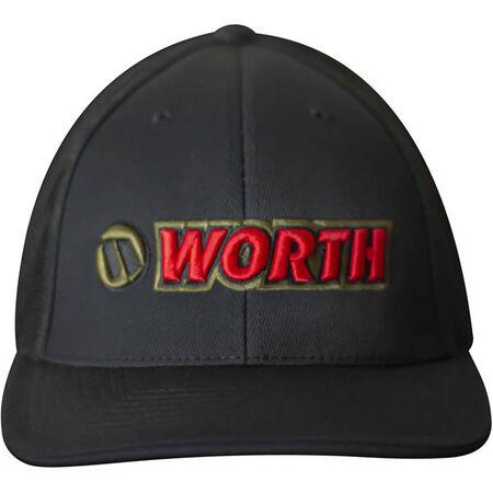 Worth Black Trucker Mesh Hat