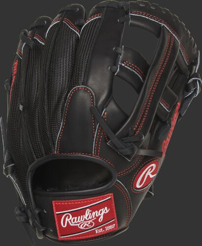PROAK2MBP 11.5-inch Heart of the Hide infield glove with a black, mesh back