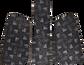 Front of Rawlings Black Velo Batting Helmet Fit Kit SKU #VELOFK image number null
