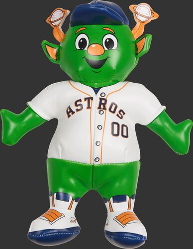 Rawlings MLB Houston Astros Mascot Softee With White Team Jersey and Backwards Team Hat SKU #03770002111