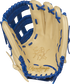 PROKB17-6CR Rawlings Heart of the Hide Color Sync Kris Bryant pattern glove with a camel palm and royal laces image number null