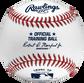 A Rawlings level 10 training baseball - SKU: ROTB10 image number null