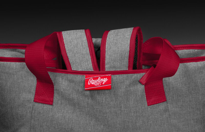 Backpack straps on a Chiefs tote cooler